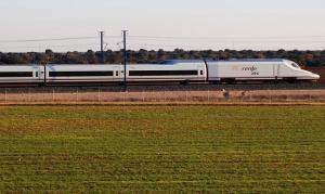 Tren del servicio de Alta Velocidad.