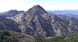 Vista de la cara norte del majestuoso Trevenque.