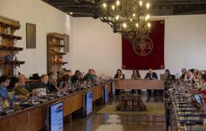 Imagen de la reunión del Consejo de Gobierno.