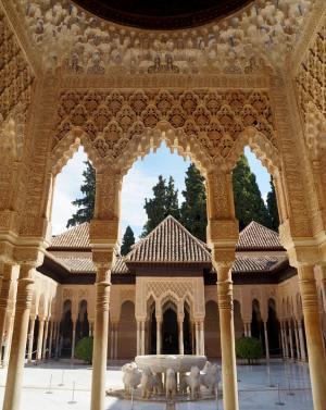 Templete del Patio de los Leones.