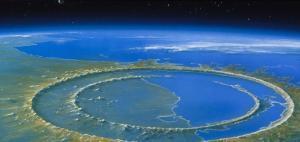 Cráter de Chicxulub (Yucatán, México).