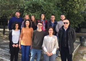 Integrantes del grupo de investigación de Biomoléculas de la UGR, que liderarán este proyecto internacional.