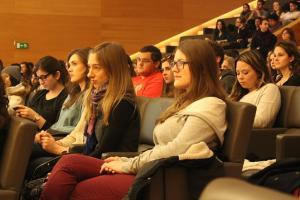Estudiantes Erasmus en una edición anterior del programa.
