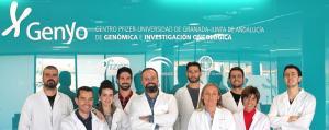 Equipo científico en el centro Genyo del PTS.