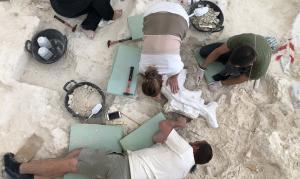 Tareas de excavación en Orce.