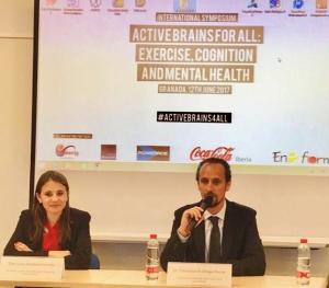 Irene Esteban-Cornejo y Francisco B. Ortega Porcel, ganadores de este premio.