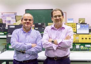 Antonio Peña y Juan Carlos López, autores de la investigación.
