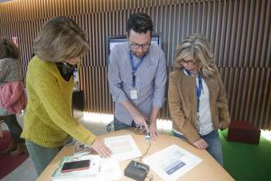 Nueva 'Ventana a la Ciencia' en el museo científico.