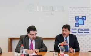 Carbó y Cuwnca, durante la reunión celebrada este lunes.