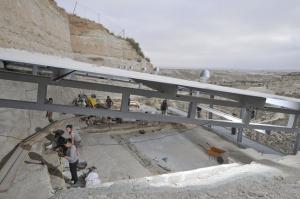 Yacimiento arqueológico de Barranco León, en Orce.