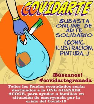 Cartel de la iniciativa solidaria.
