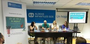 De izquierda a derecha, Iratxe Serrano, José Manuel Morell, María Martín Titos y Mercedes Moya Herrero.