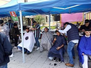 El acto solidario se ha desarrollado en la Plaza de la Aurora.