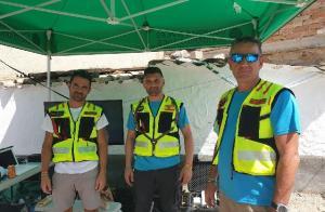 Miembros de Guardias Civiles Solidarios.