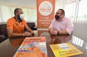 De izquierda a derecha, David Casado y Manuel Guirado.