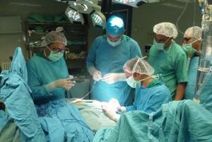 Los médicos andaluces, en acción.