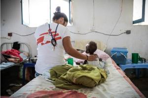 Acción de Médicos sin Fronteras en Sudán del Sur (2015).