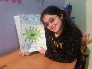 La autora del cuento.