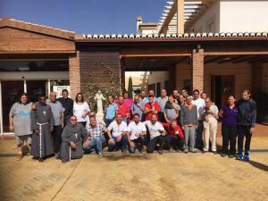 Parte de la comunidad de la Casa Familiar Dr. Juan Segura.