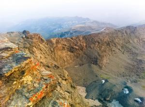 Amanecer en el Pico del Veleta.