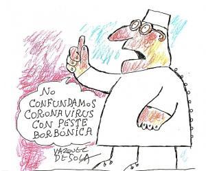Viñeta del maestro Andrés Vázquez de Sola.