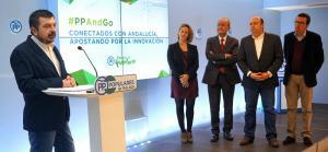 Presentación en Málaga de la Ponencia de Comunicación del PP-A.