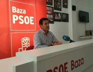 Pedro Fernández, este sábado en Baza.