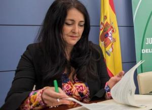 Remedios Gámez, alcaldesa de Montefrío.
