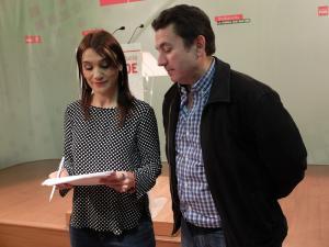 Olga Manzano y Antonio Cobo.