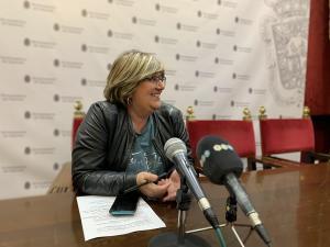 La concejala socialista Ana Muñoz.