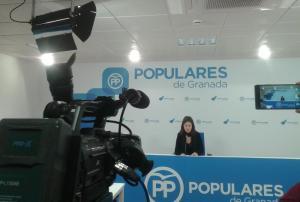 Ana Vanesa García, en rueda de prensa.