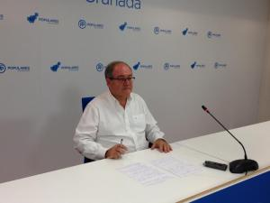 Antonio Ayllón, en rueda de prensa.