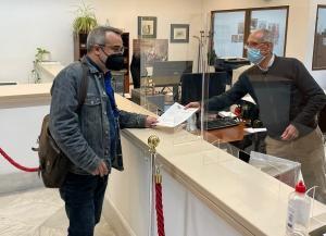 Antonio Manuel Mateos, al registrar la carta.