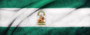 La Blanca y Verde, la bandera de Andalucía.
