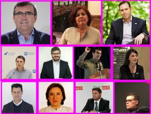 Diputados y senadores por la provincia de Granada.