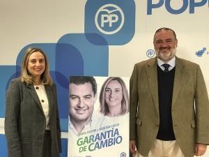 Marifrán Carazo y Pablo García.