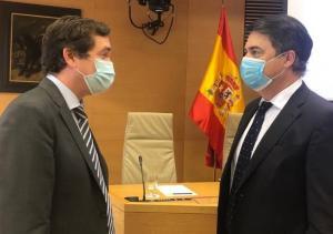 Carlos Rojas y Pablo Hispan en una imagen de archivo.
