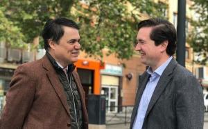 Carlos Rojas y Pablo Hispan, en una imagen de archivo.