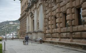 Imagen de archivo de los exteriores del Carlos V.