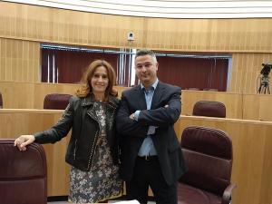 Carmen Capilla y Juan Francisco Arenas.