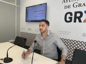 Eduardo Castillo en rueda de prensa.