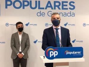 César Díaz y Jorge Saavedra, en rueda de prensa.