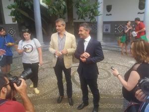 César Díaz y Manuel Olivares.