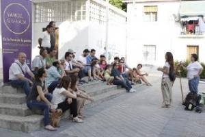 Imagen de la asamblea de la Chana.