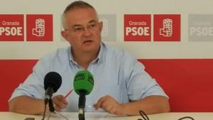 José María Rueda, secretario general del PSOE de Granada.