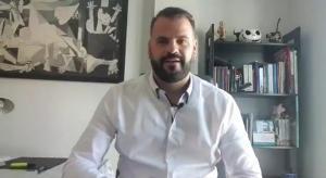 Jesús Fernández, en una imagen extraída del vídeo difundido en redes sociales.