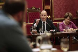 García Montero y Ruiz en una comisión de Urbanismo poco antes de abandonar el PP la Alcaldía.