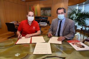 El convenio se ha firmado este viernes en la Diputación.
