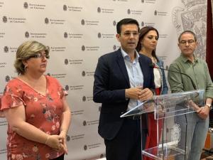Cuenca este miércoles en su comparecencia ante los medios.