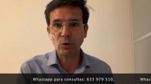 Cuenca en un mensaje en vídeo desde su cuenta de twitter.